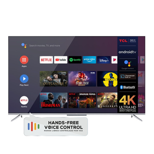 Imagen 1 de 5 de Smart Tv Tcl 50p715 Dled 4k 50