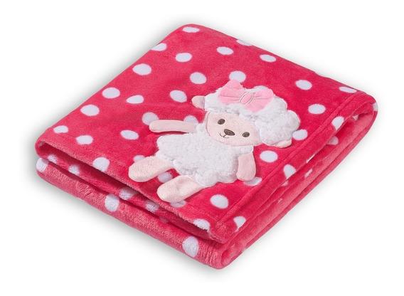 Cobertor Bebê Manta Microfibra Toque Macio Vários Modelos