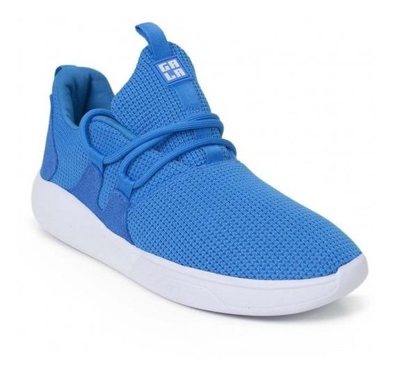 Tênis Hocks Skate Sneaker Galáctica Azul Branco Original