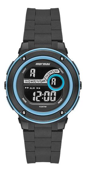 Relógio Mormaii Acqua Masculino Preto Mo8740ab/8a Azul