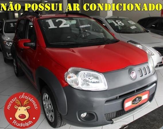 Uno Evo Way 1.0 2012 Menos Ar.