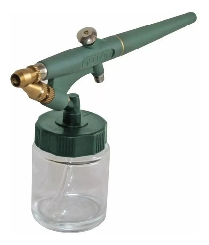 Imagen 1 de 8 de Aerografo Kit Mota Junio Pak Pistola Lapiz Pintar