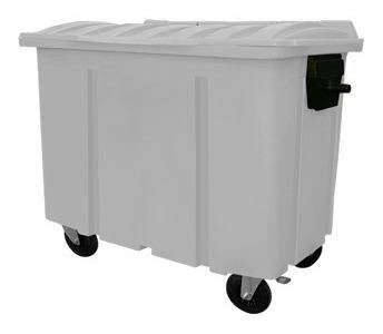 Carro Container De Lixo 700 Litros Com Rodas Coleta Seletiva
