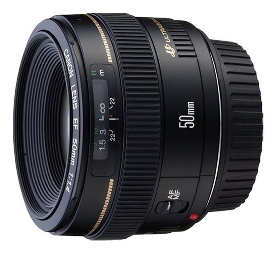 Lente Canon Ef 50mm F/1.4 Usm Nota Fiscal