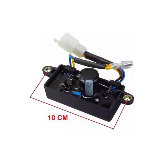 Avr Regulador Voltaje 2kw-3kw 6500 W / 220uf-250v Generador