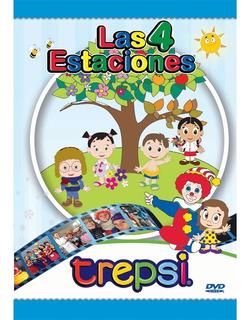 Dvd Compacto Trepsi Musica Infantil Niños Las Estaciones