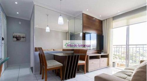 Imagem 1 de 24 de Apartamento Com 2 Dormitórios À Venda, 54 M² - Vila Liviero - São Paulo/sp - Ap5485