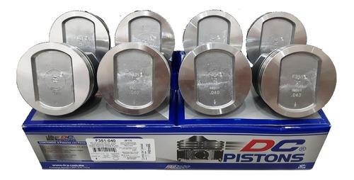 Juego De Pistones Ford 351 A 0.60