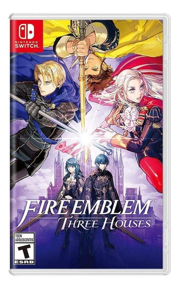 Fire Emblem Three Houses Switch Mídia Física Novo Lacrado