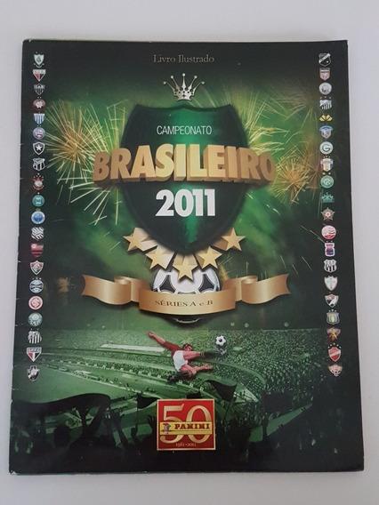 Album Campeonato Brasileiro 2011 Oficial - Vazio