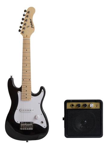 Imagen 1 de 3 de Guitarra Eléctrica Niños Fiddler Kids + Amplificador 5w