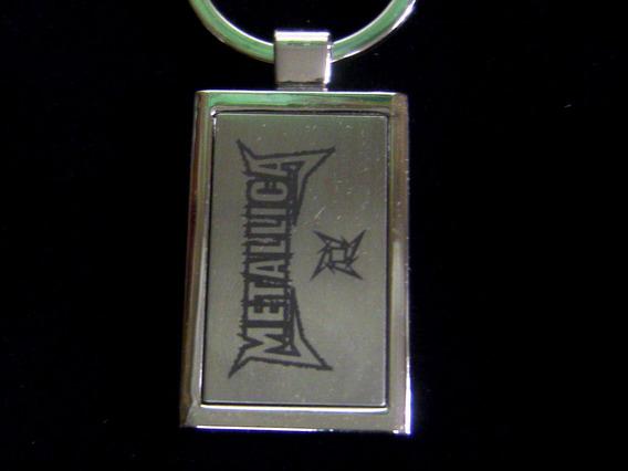 Chaveiro Metallica Rock