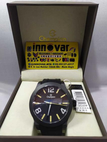 Relógio Champion Original Pulseira De Couro Preço De Fábrica