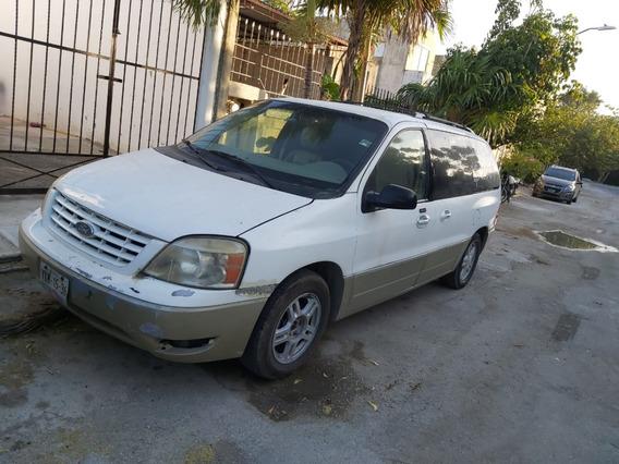 Ford Freestar 2004 Color Blanco Con Motor Ajustado En Agenci