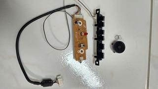 Teclado+ Receptor Controle+ Tecla Power Samsung Ln40r71bax