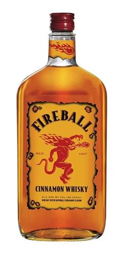 Imagen 1 de 1 de Botella Whisky Cinnamon Fireball 750ml