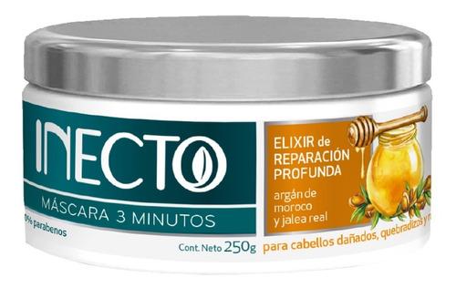 Mascara Inecto 3 Minutos Elixir Reparacion Profunda Argan