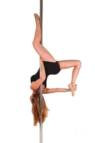 Barra Profesional Pole Dance Fitness Portatil Fijo-giratorio