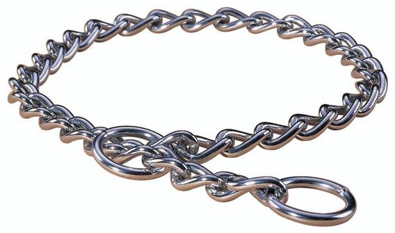 Hamilton Extra Heavy Choke Chain Dog Collar, Plateado Cromad