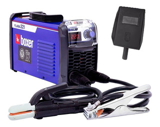 Máquina De Solda Inversora 220a Eletrodo Flama221 Boxer