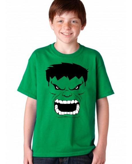 Camisetas Infantil Incrivel Hulk 3