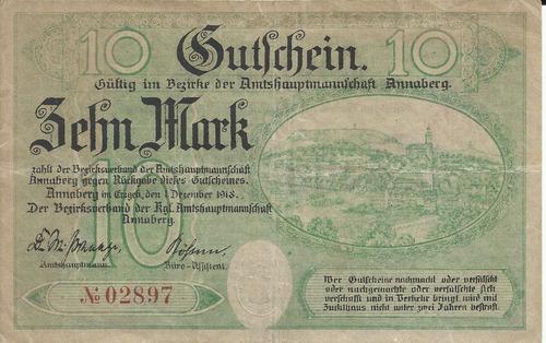 Imagen 1 de 2 de Alemania 10  Marcos 1918