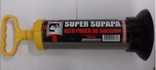 Super Sopapa El Abuelo Destapa Cañeria Piletas Inodoros ***