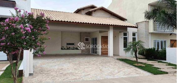 Casa Residencial À Venda, Condomínio Ibiti Royal Park, Sorocaba. - Ca1060