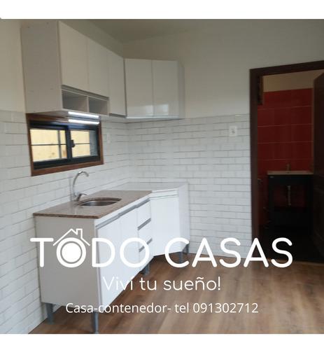 Casa-contenedor  1 Dorm  Oferta!!!! U$s 13900+iva