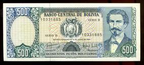 Cédulas Da Bolívia (sete) - Flor Estampa - L.314