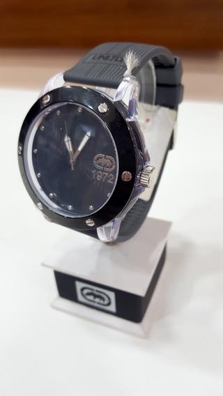 Relógio De Pulso Ecko E09520 Preto Masculino Original