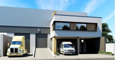 Pre-venta Bodega Industrial Santa Catarina En Parque 200