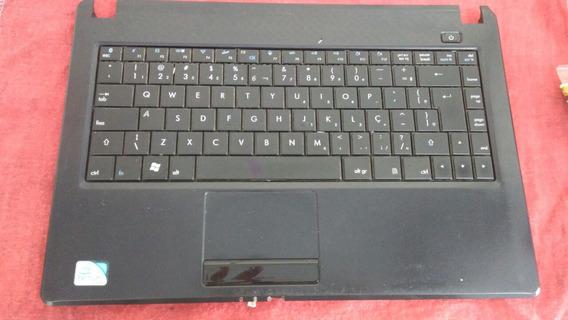 Base Inferior Notebook Cce Info + Teclado + Placa De Audio