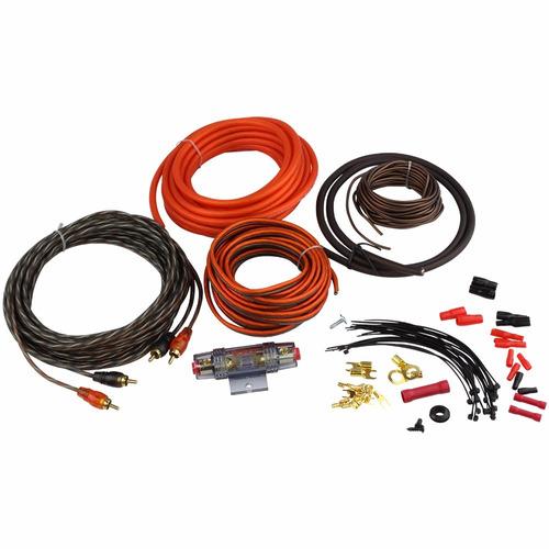 Kit D Cables Y Conectores P Instalacion D Potencias En Autos