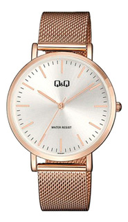 Reloj Q&q By Citizen Qa20j051 Dorado Rose Hombre Agente Of