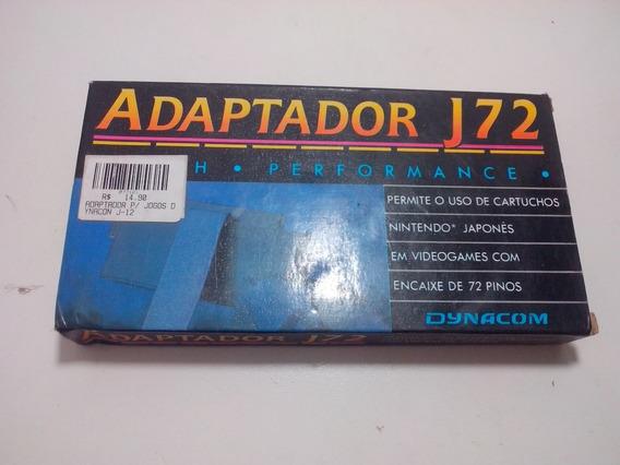Adaptador J72 Dynacom Original 72 / 60 Pinos - Novo