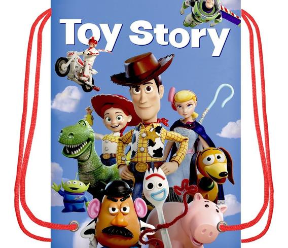 Morralitos Dulceros Personalizados -toy Story-.50 Piezas