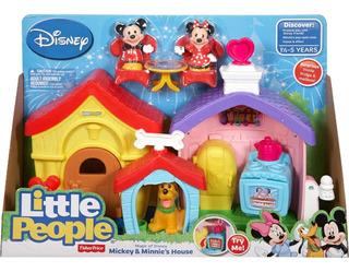 Little People - Casa De Mickey Y Minnie - Fisher Price