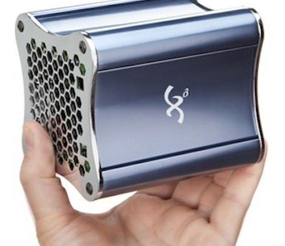 Mini Pc Kit Amd R464l 2.3 Ghz 8gb Ssd 128 Gb Radeon Hd 7660g