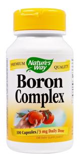 Complexo De Boron 3mg - Nature