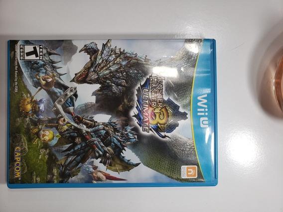 Monsters Hunter 3 Wiiu