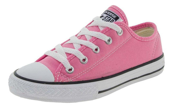 Tenis All Star Converse Infantil Ct As Border Ox