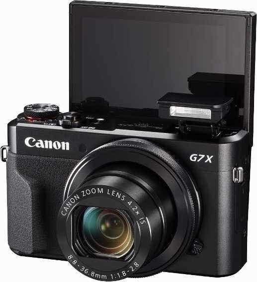 Câmera Vlog / Canon Rebel G7x Mark Ll Wi +32gb + Bateria