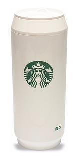 Vaso Térmico Starbucks Coffee Blanco Tipo Lata 480 Ml