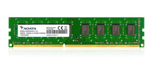 Memoria RAM 4GB 1x4GB Adata ADDX1600W4G11 Premier Series