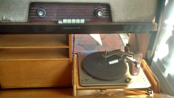 Eletrola Philips Toca Discos Rádio Antiga Não Funciona Rara