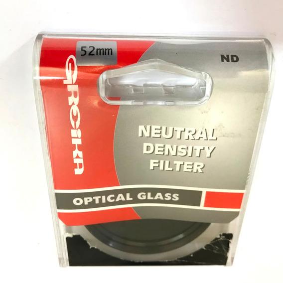 Filtro Nd8 Greika 52mm Densidade Neutra Filtro Greika 52mm