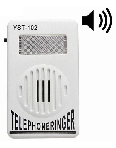 Timbre Amplificador  Adicional  Aumenta  Sonido Al Teléfono