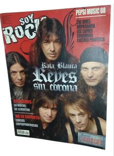 Revista Soy Rock 52 - Rata Blanca Agosto Retro Coleccion