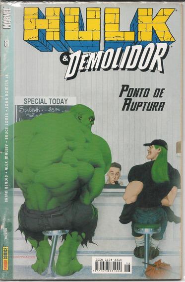 Gibis-maia Lote Hulk E Demolidor Panini/abril/ebal/rge/